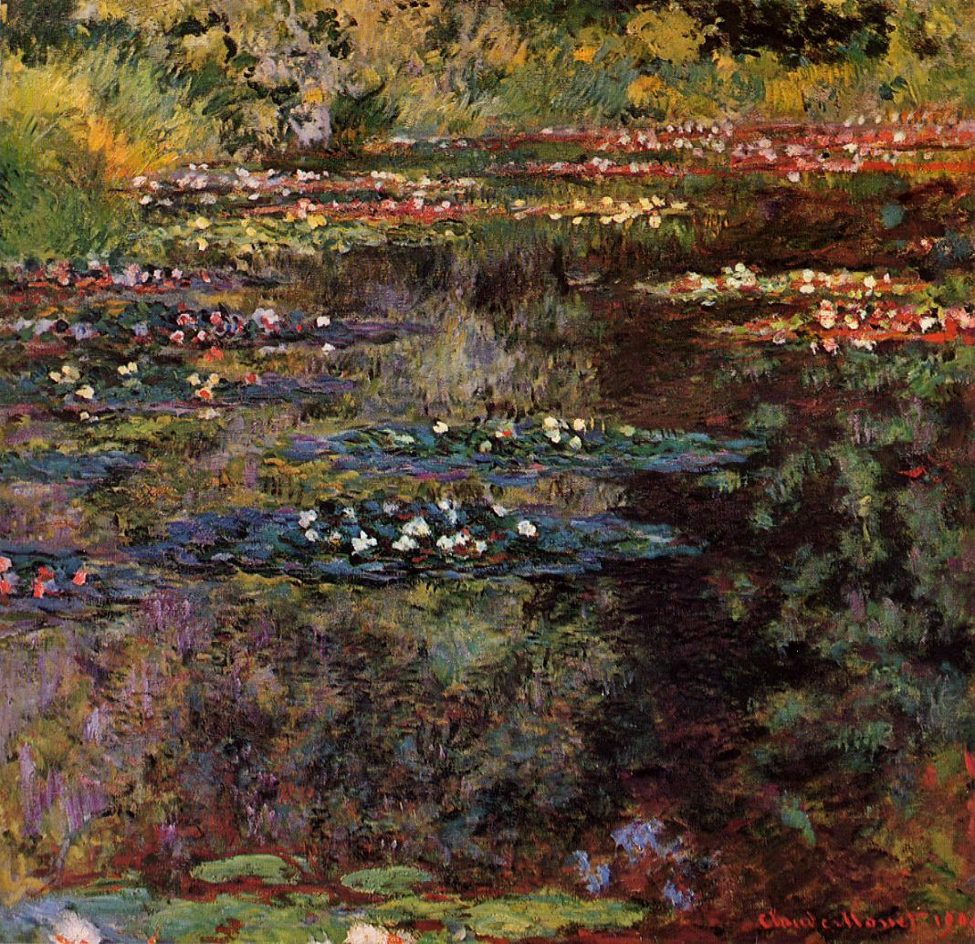 Water-Lilies2 1904 | Claude Monet | Oil Painting