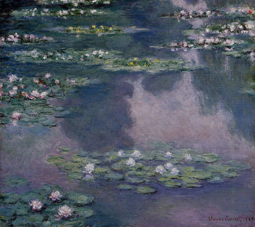 Water-Lilies2 1905 | Claude Monet | Oil Painting