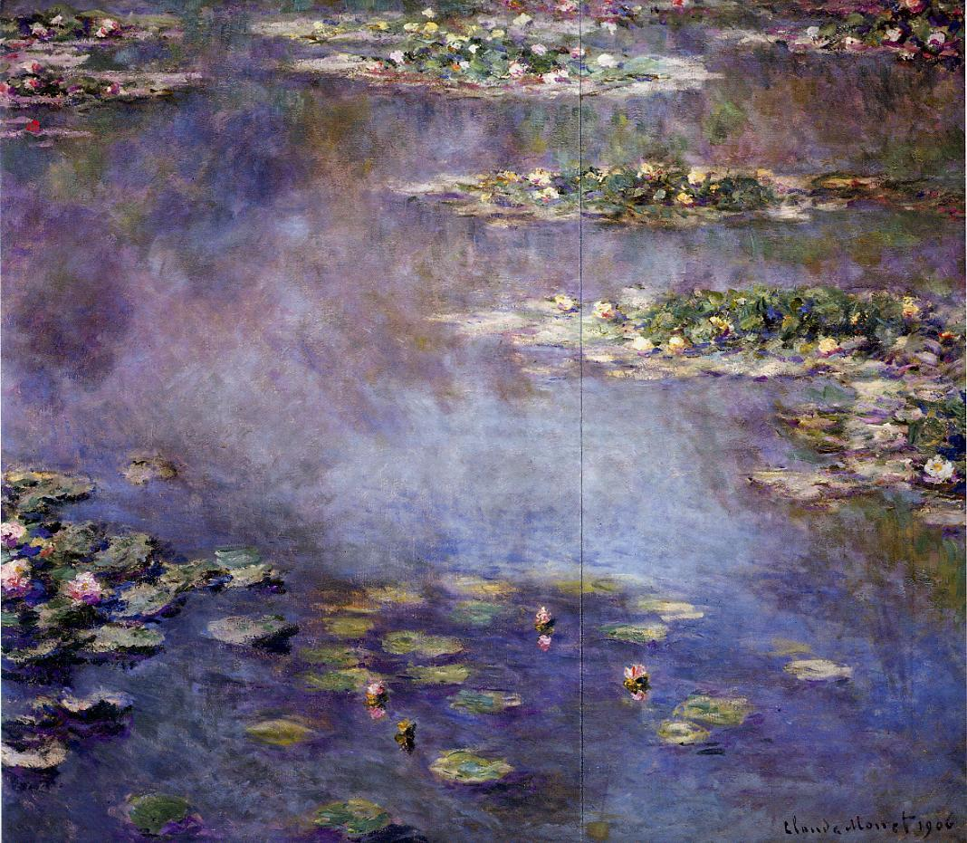 Water-Lilies2 1906 | Claude Monet | Oil Painting