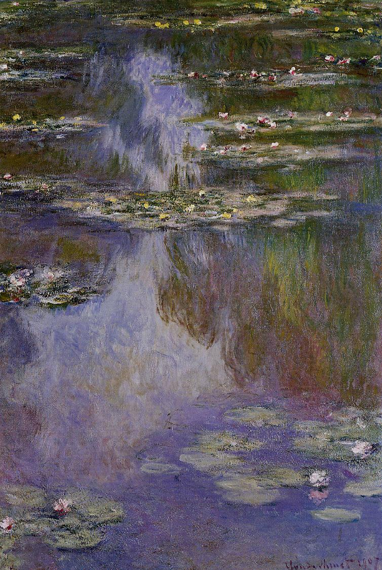 Water-Lilies2 1907 | Claude Monet | Oil Painting