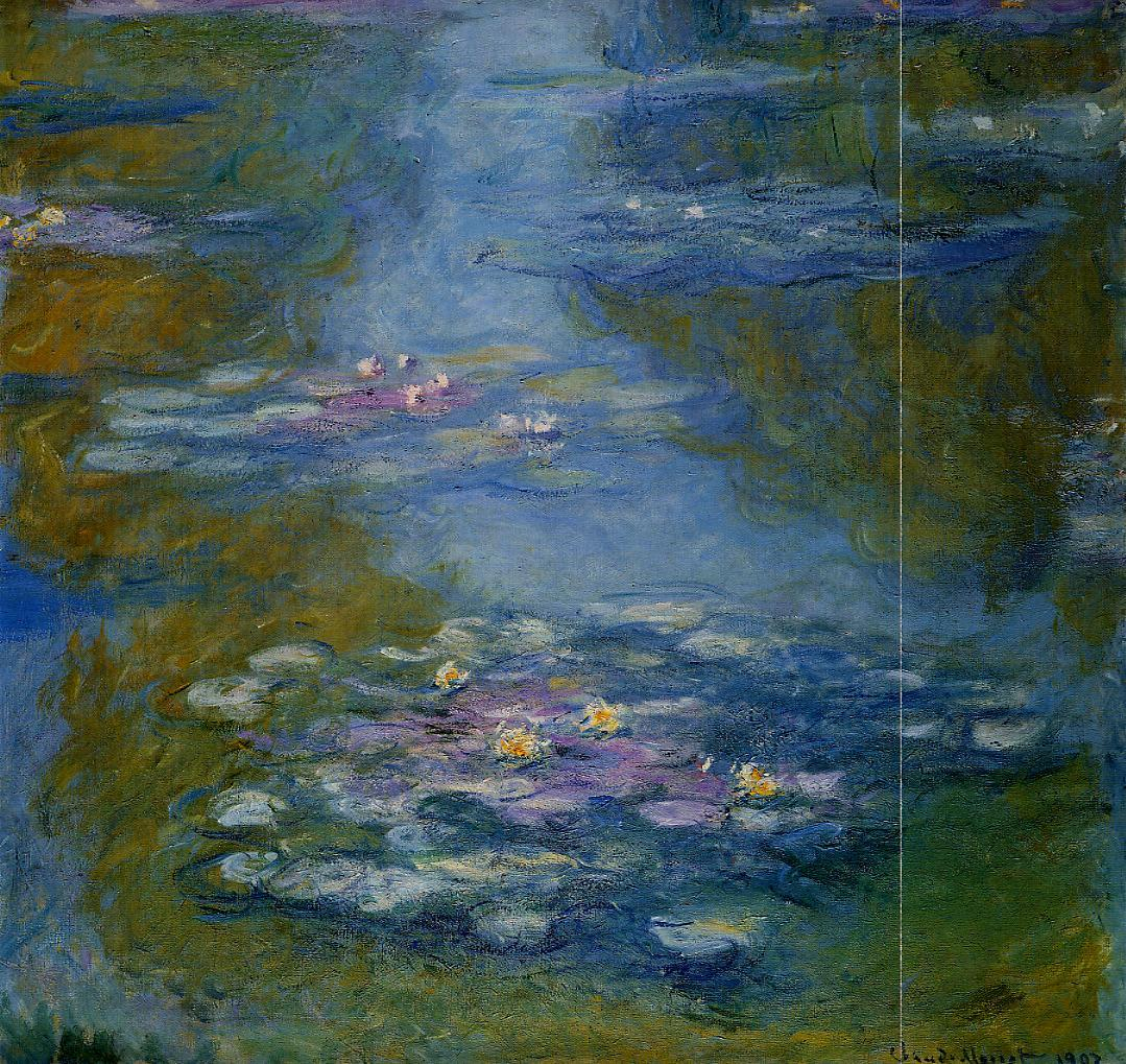 Water-Lilies2 1908 | Claude Monet | Oil Painting