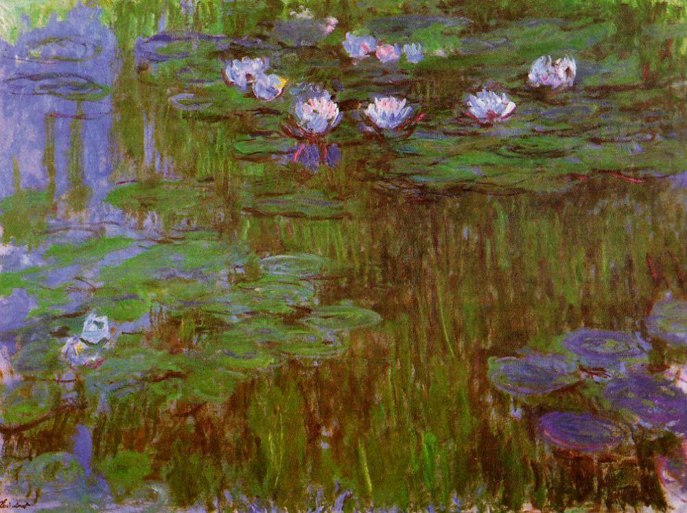Water-Lilies2 1914-1917 | Claude Monet | Oil Painting