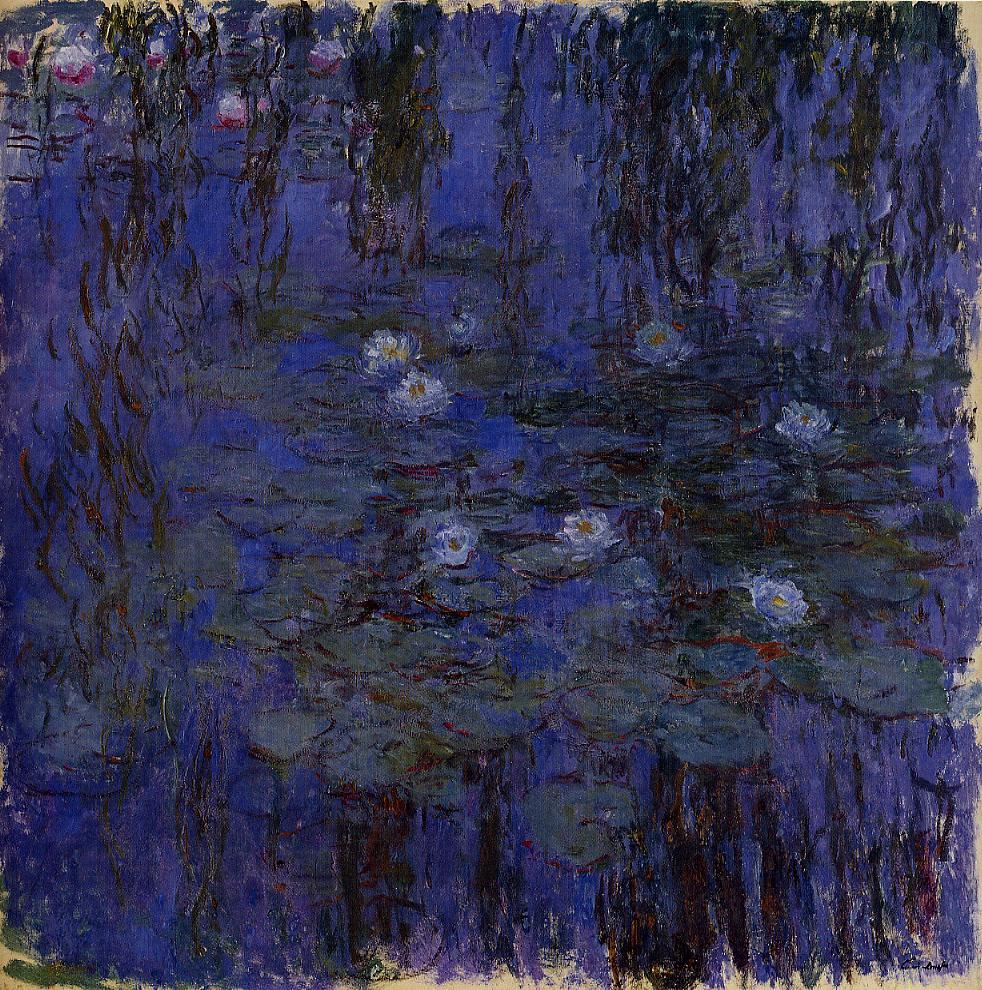 Water-Lilies2 1916-1919 | Claude Monet | Oil Painting