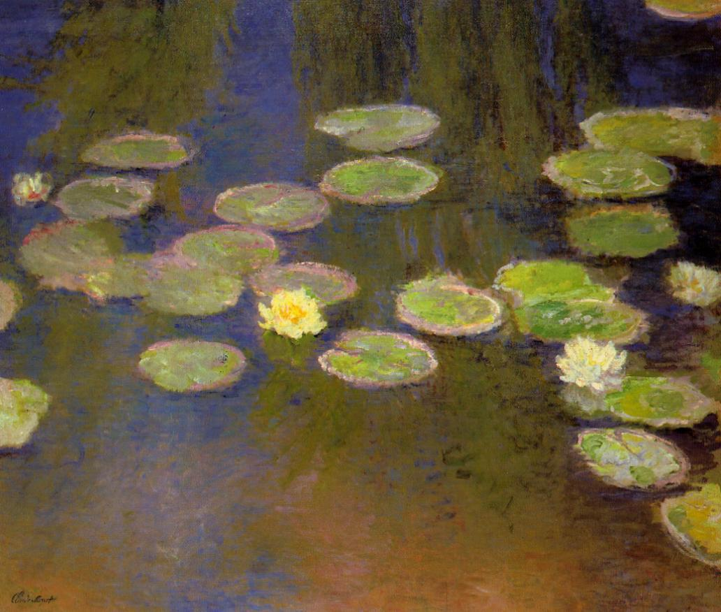 Water-Lilies3 1897-1899 | Claude Monet | Oil Painting