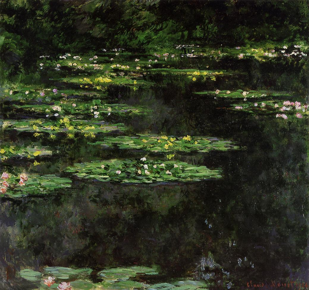 Water-Lilies3 1904 | Claude Monet | Oil Painting