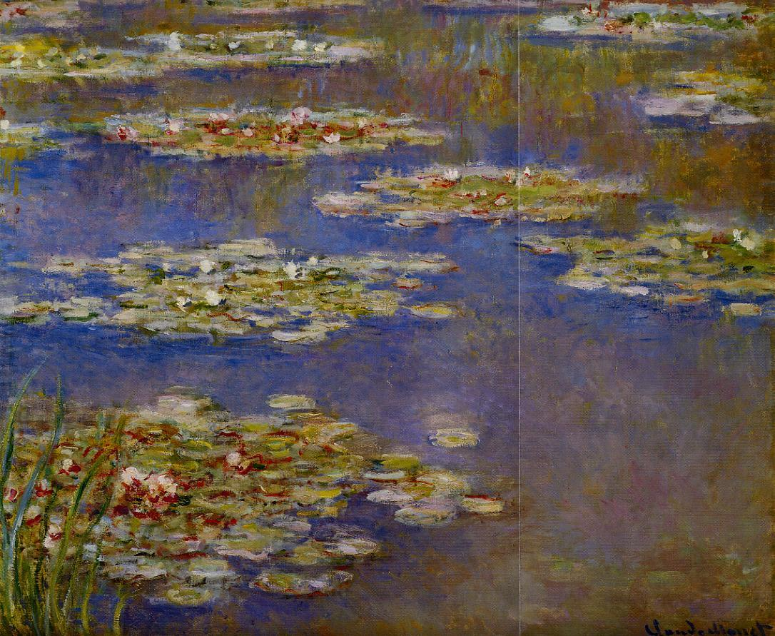 Water-Lilies3 1905 | Claude Monet | Oil Painting