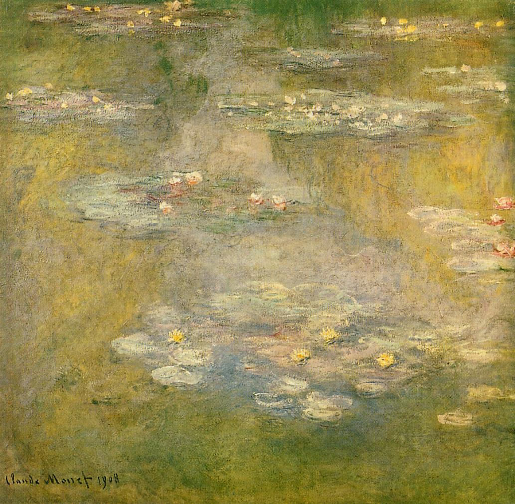 Water-Lilies3 1908 | Claude Monet | Oil Painting