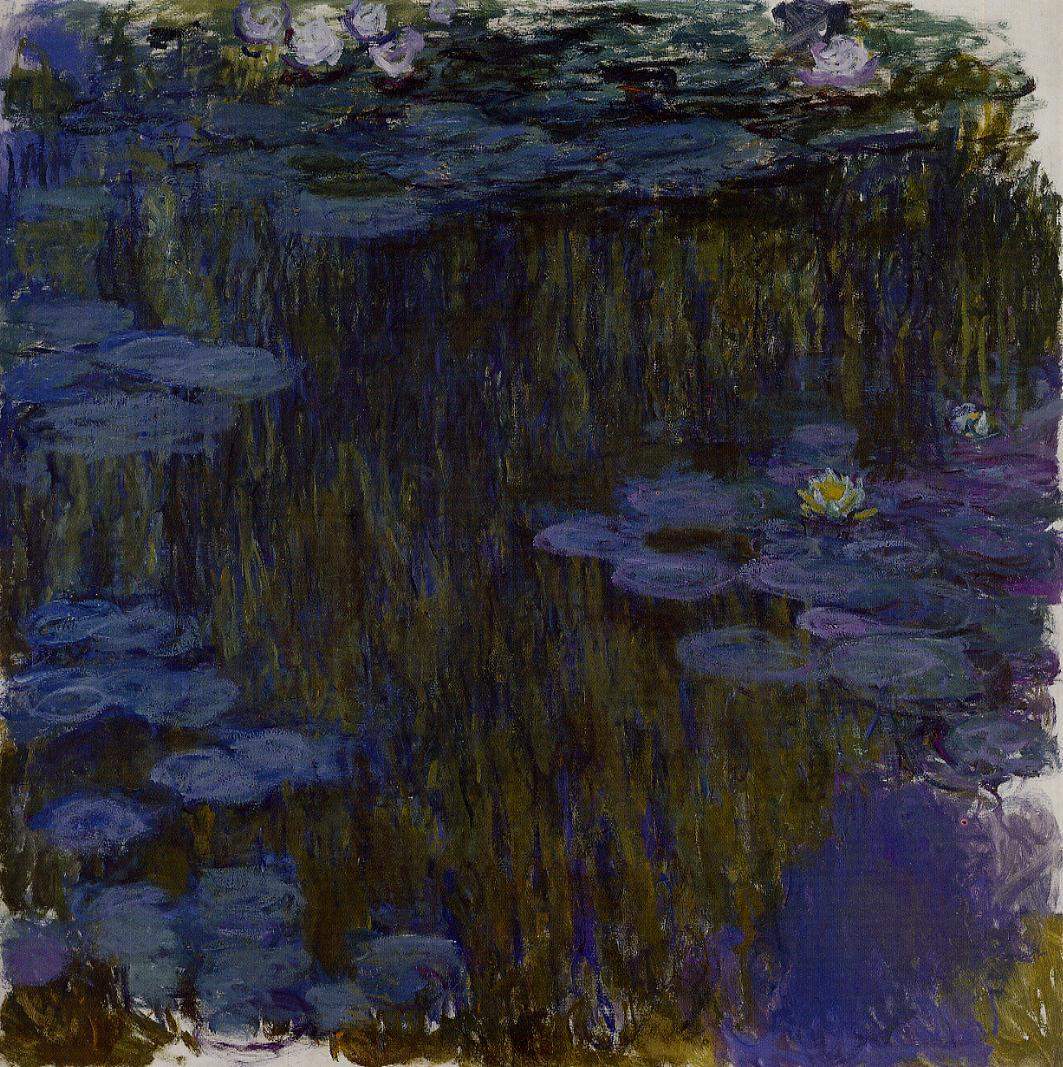 Water-Lilies3 1914-1917 | Claude Monet | Oil Painting