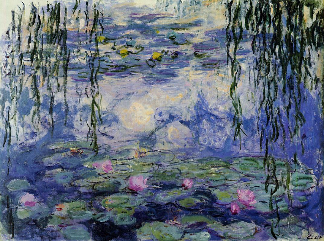 Water-Lilies3 1916-1919 | Claude Monet | Oil Painting