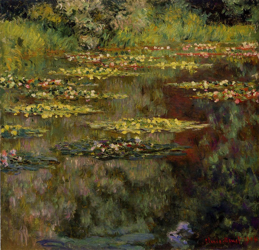 Water-Lilies4 1904 | Claude Monet | Oil Painting