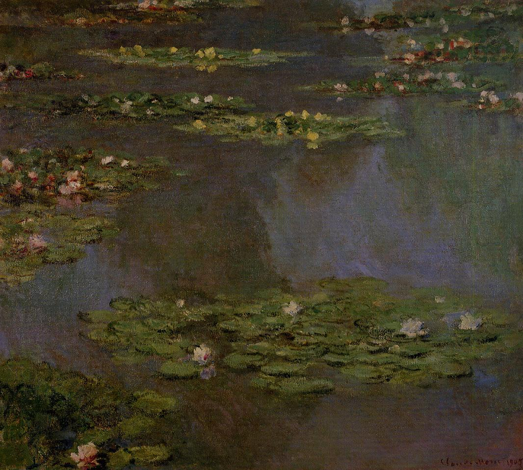 Water-Lilies4 1905 | Claude Monet | Oil Painting