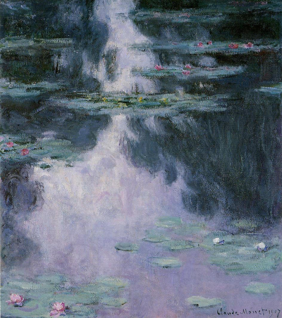 Water-Lilies4 1907 | Claude Monet | Oil Painting