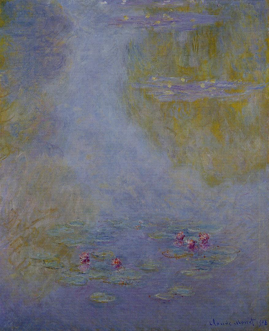 Water-Lilies4 1908 | Claude Monet | Oil Painting