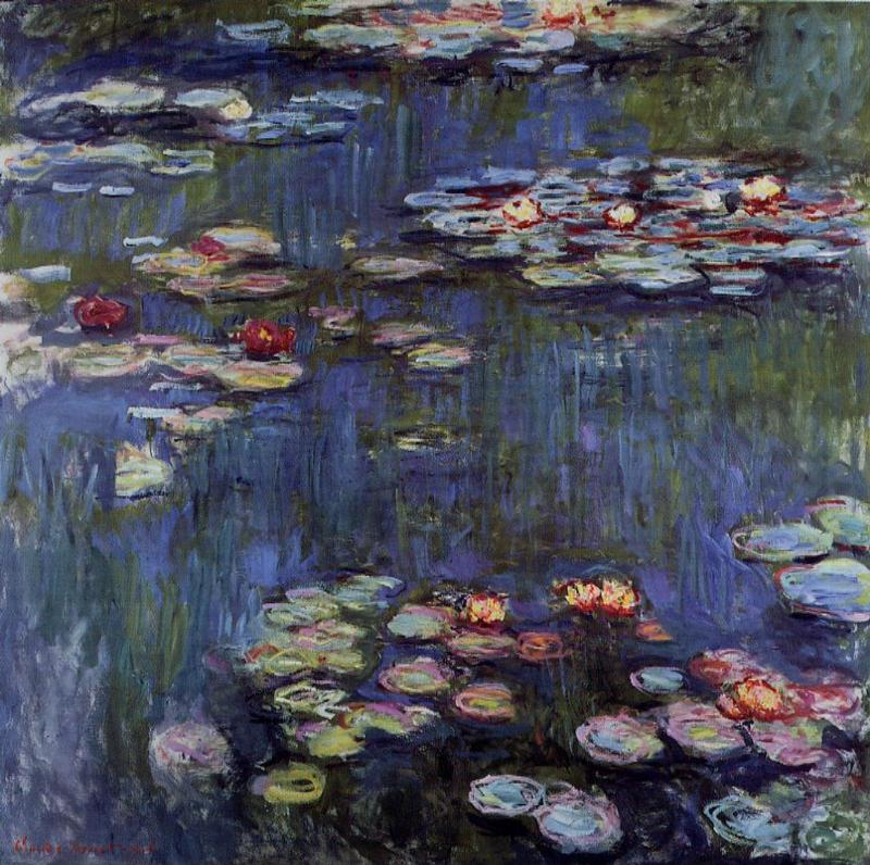 Water-Lilies4 1914-1917 | Claude Monet | Oil Painting