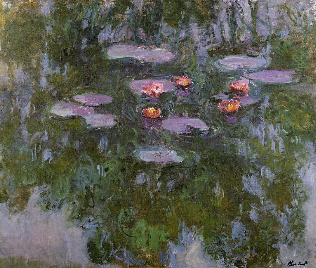 Water-Lilies4 1916-1919 | Claude Monet | Oil Painting