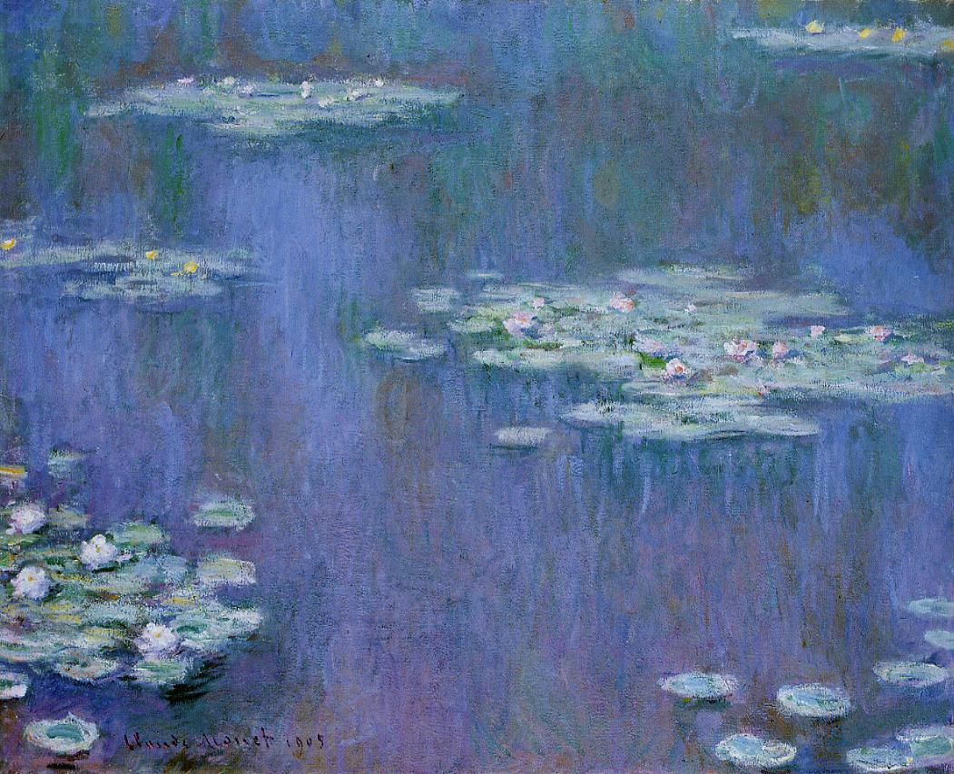 Water-Lilies5 1905 | Claude Monet | Oil Painting
