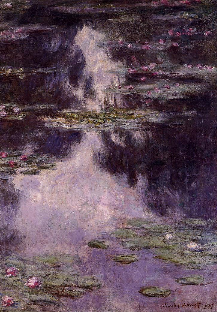 Water-Lilies5 1907 | Claude Monet | Oil Painting