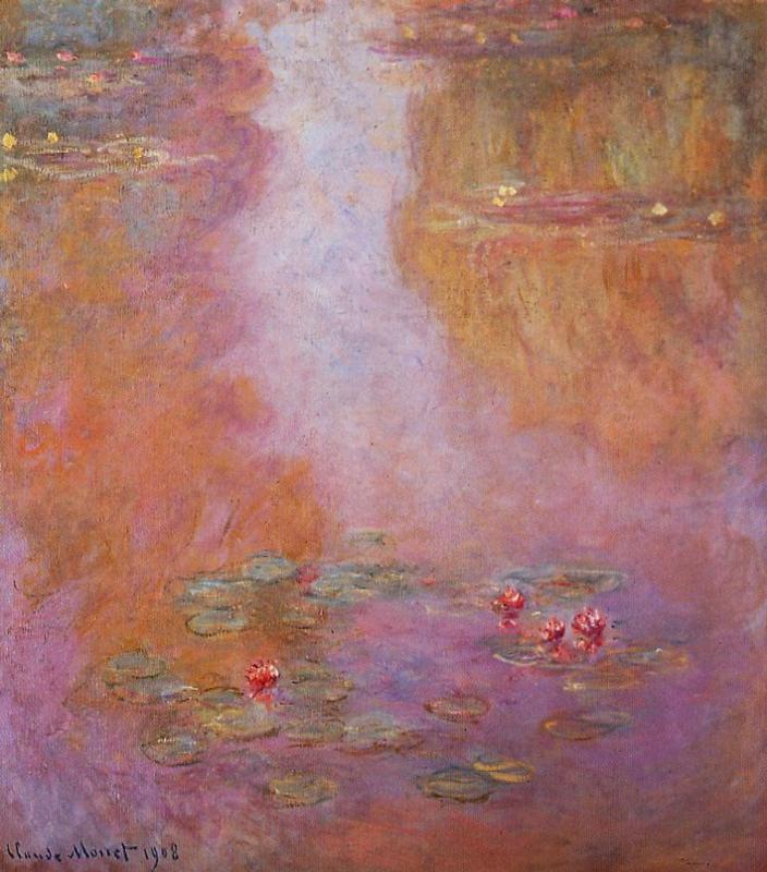 Water-Lilies5 1908 | Claude Monet | Oil Painting