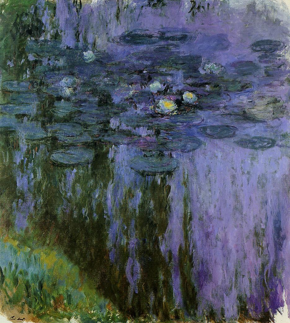 Water-Lilies5 1916-1919 | Claude Monet | Oil Painting