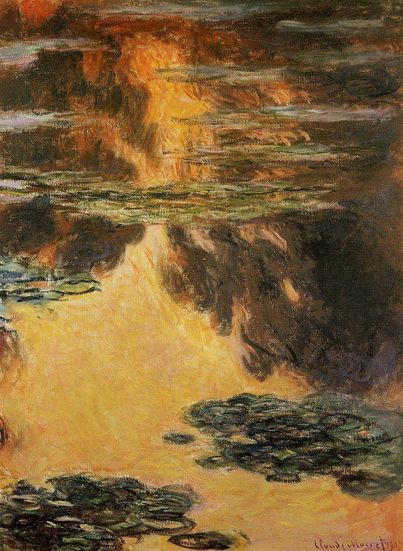 Water-Lilies6 1907 | Claude Monet | Oil Painting