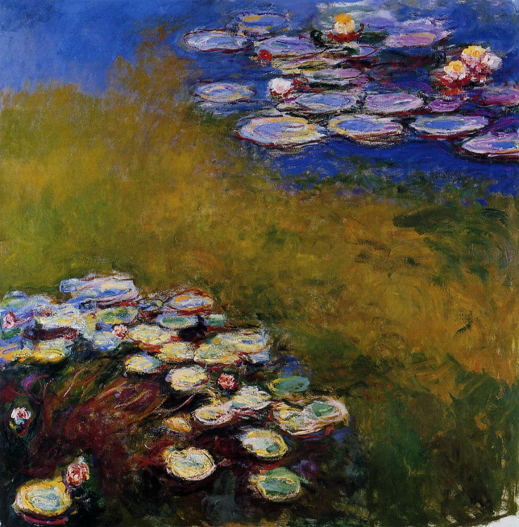 Water-Lilies6 1914-1917 | Claude Monet | Oil Painting