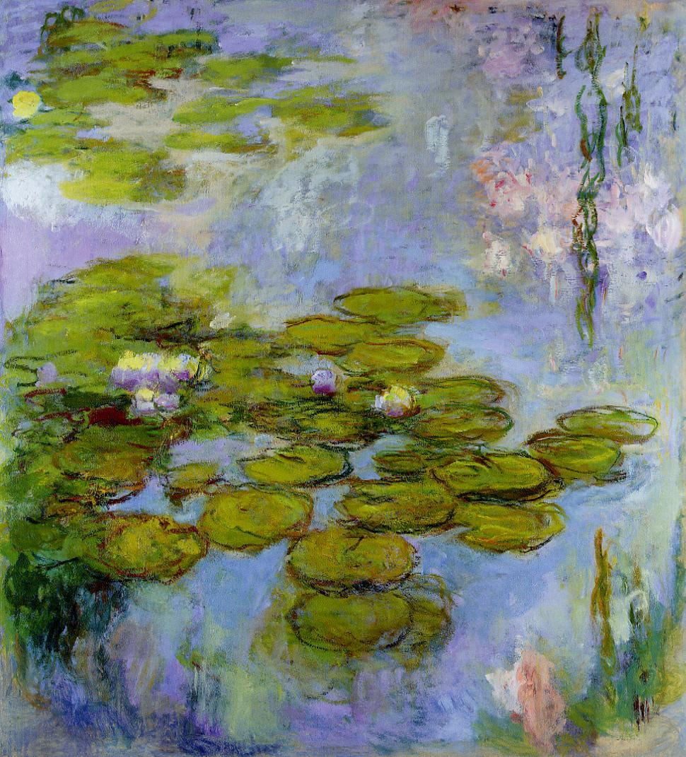 Water-Lilies6 1916-1919 | Claude Monet | Oil Painting