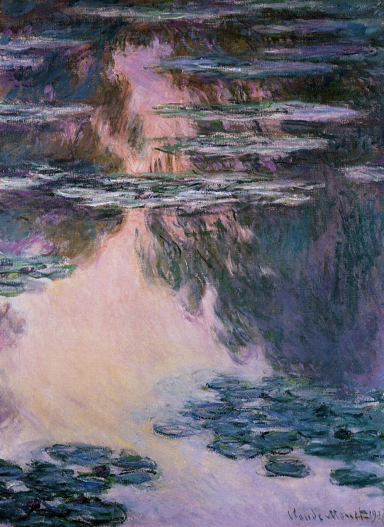 Water-Lilies7 1907 | Claude Monet | Oil Painting