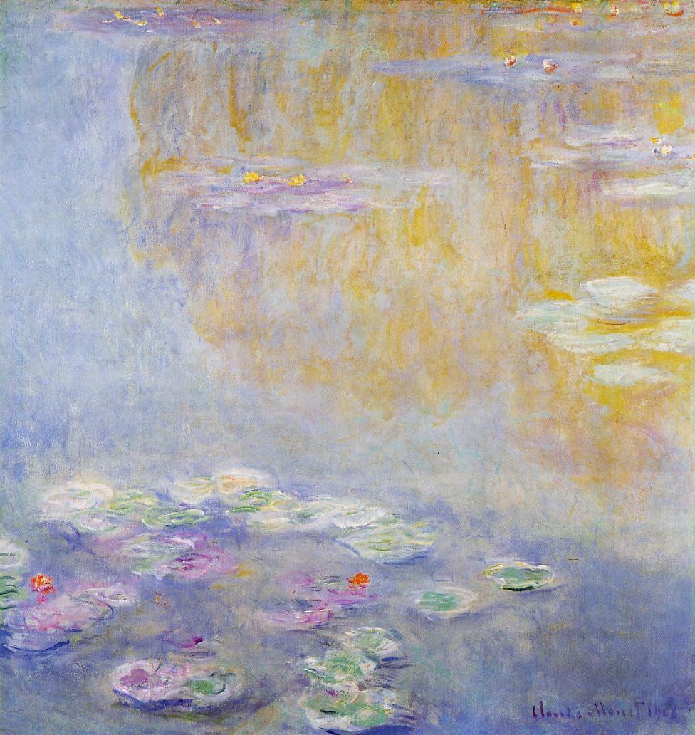 Water-Lilies7 1908 | Claude Monet | Oil Painting