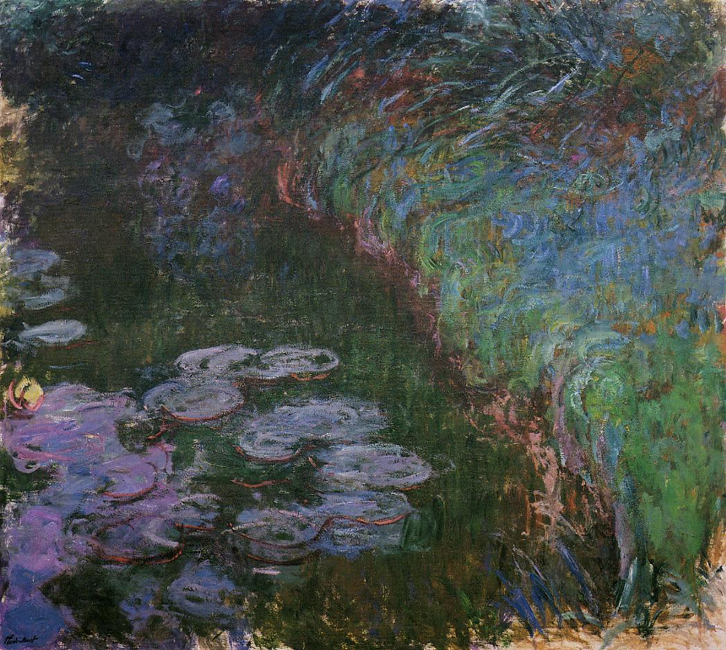 Water-Lilies7 1914-1917 | Claude Monet | Oil Painting