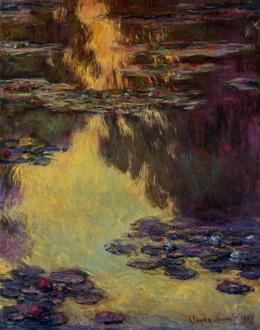 Water-Lilies8 1907 | Claude Monet | Oil Painting