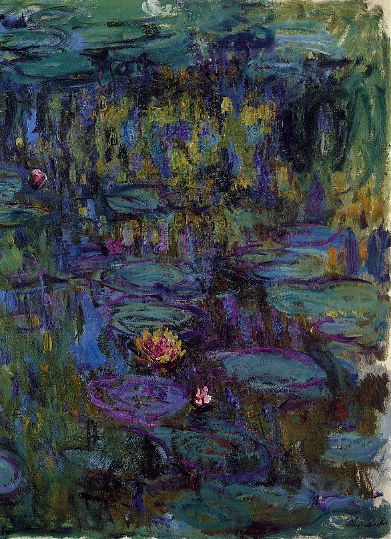 Water-Lilies8 1914-1917 | Claude Monet | Oil Painting