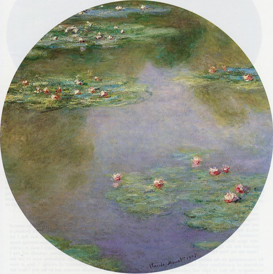 Water-Lilies9 1907 | Claude Monet | Oil Painting
