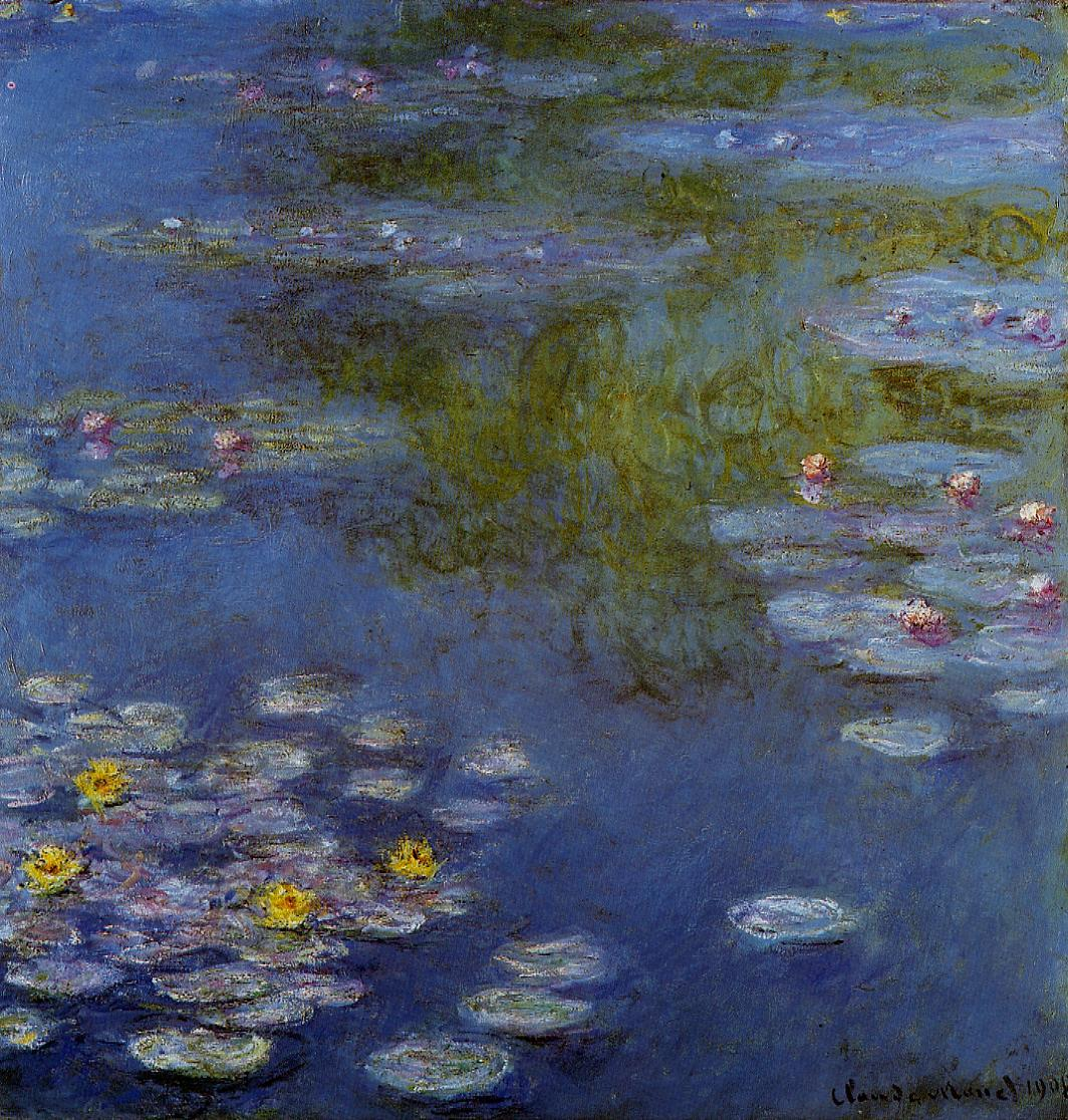 Water-Lilies9 1908 | Claude Monet | Oil Painting