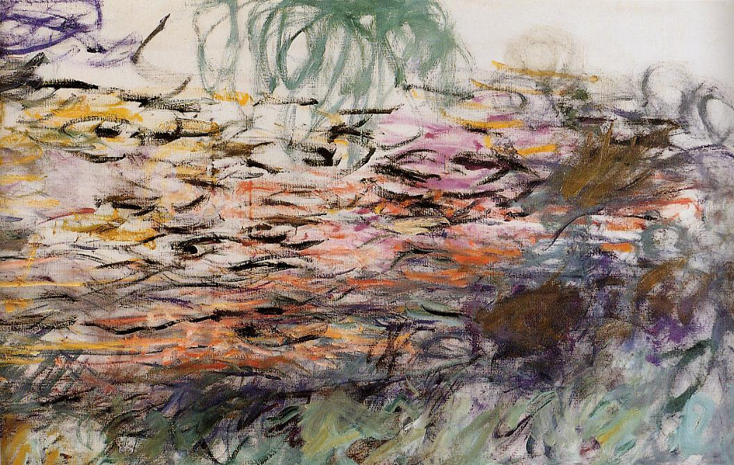 Water-Lilies (right half) 1917-1920   Claude Monet   Oil Painting