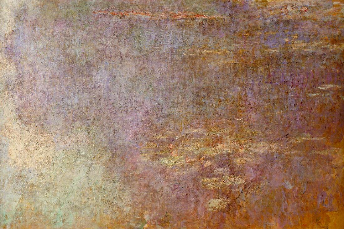 Water-Lilies (right half) 1920-1926 | Claude Monet | Oil Painting