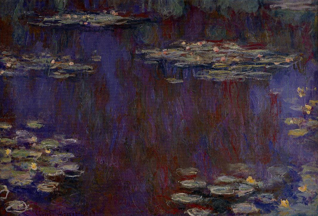 Water-Lilies 1906-1907 | Claude Monet | Oil Painting