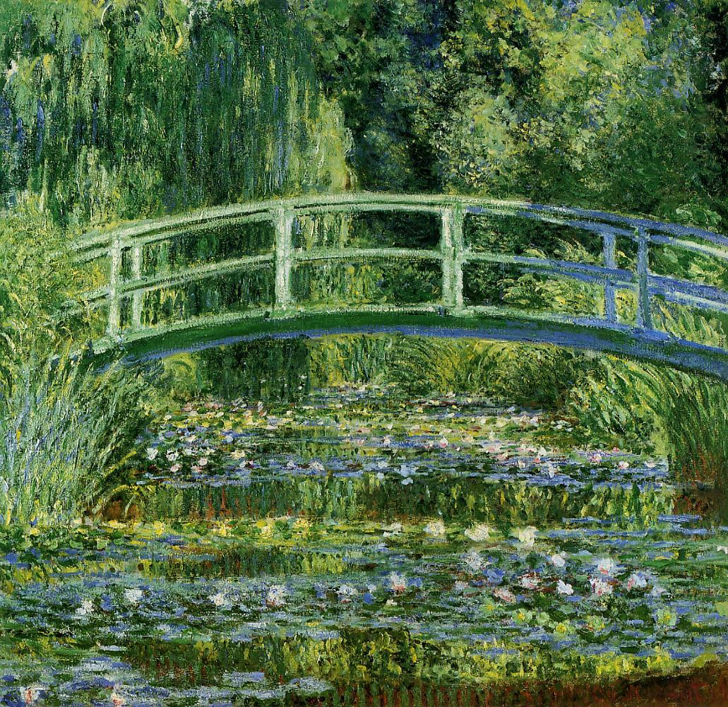 Water-Lily Pond 1897-1899 | Claude Monet | Oil Painting