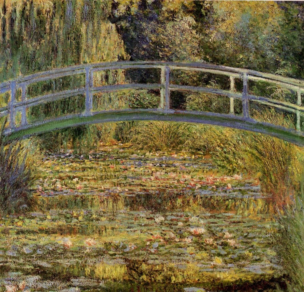 Water-Lily Pond 1899 | Claude Monet | Oil Painting