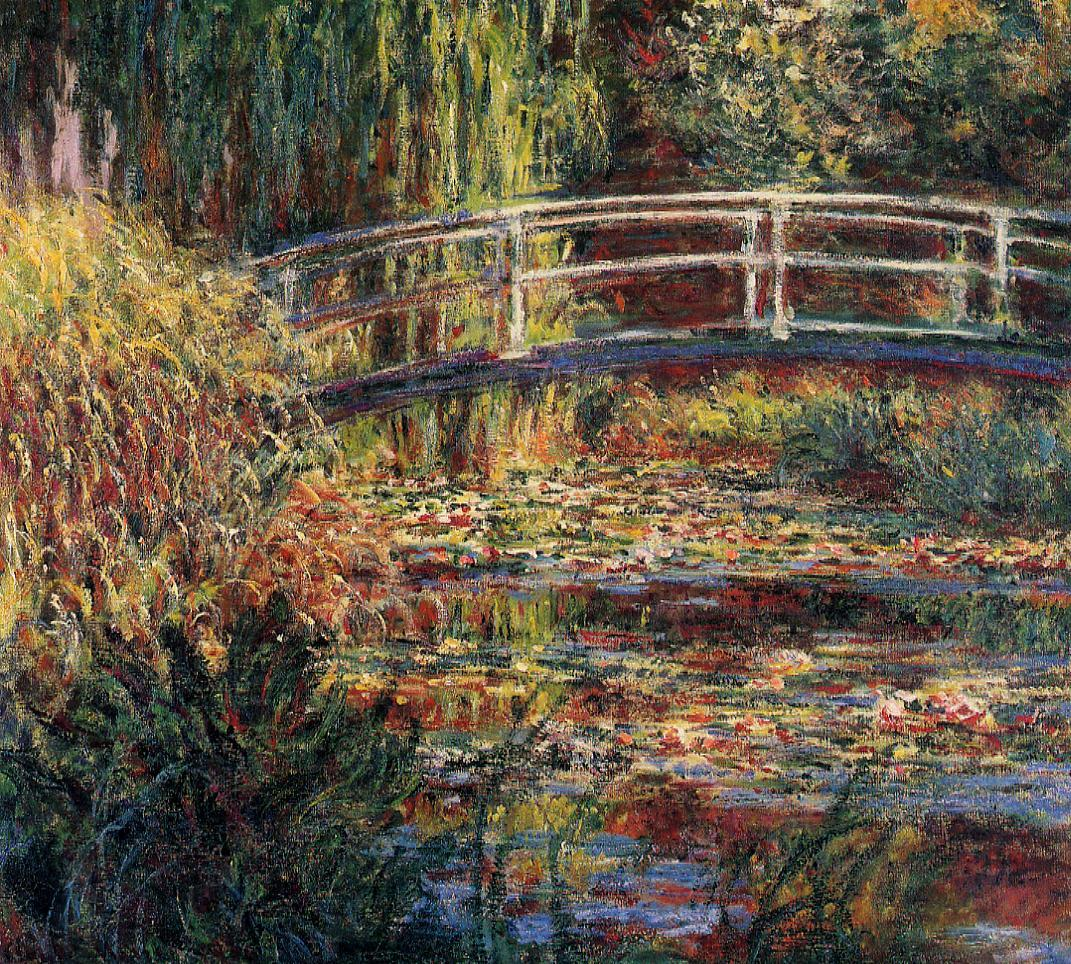 Water-Lily Pond Symphony in Rose 1900 | Claude Monet | Oil Painting
