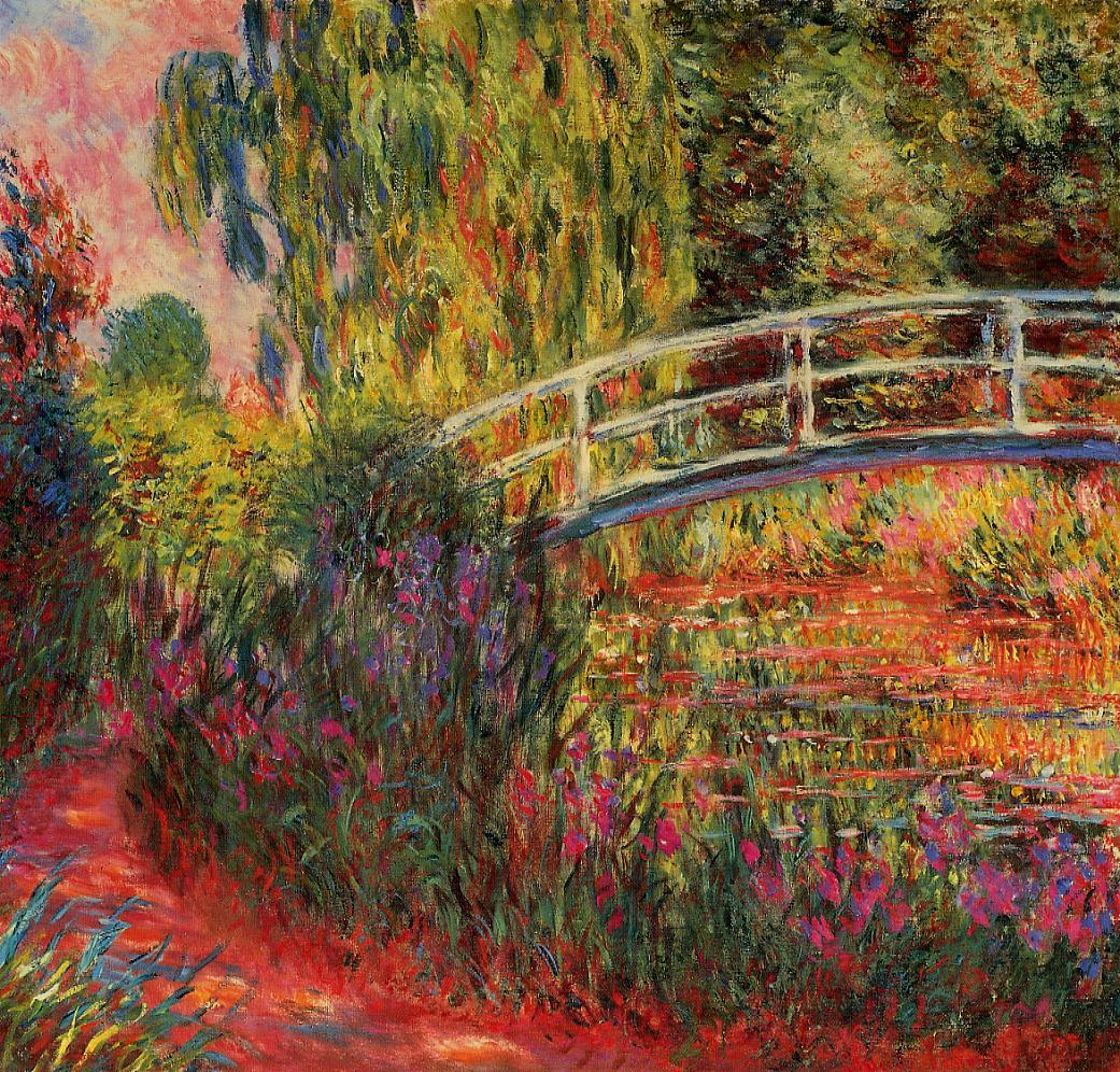 Water-Lily Pond Water Irises 1900-1901 | Claude Monet | Oil Painting