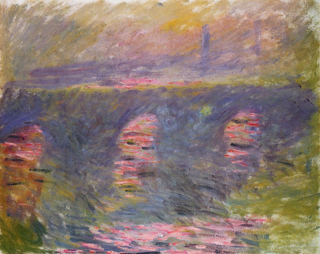 Waterloo Bridge2 1899-1901 | Claude Monet | Oil Painting