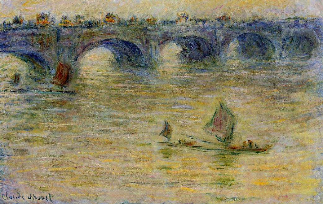 Waterloo Bridge 1899-1901 | Claude Monet | Oil Painting