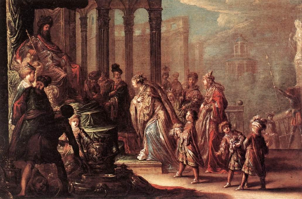 Esther Before Ahasuerus 1624 | Claude Vignon | Oil Painting