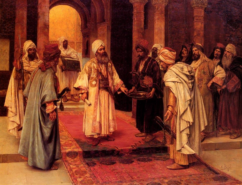 Visiteur Honore | Clement Pujol De Guastavino | Oil Painting