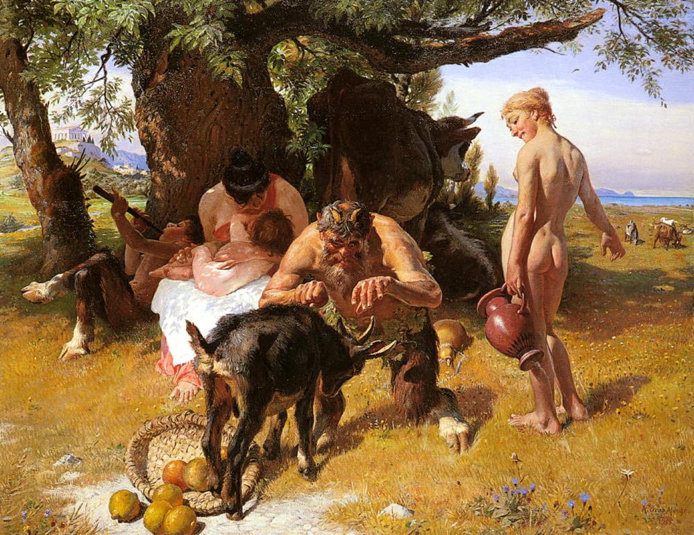 Bacchanale | Conrad Grob | Oil Painting