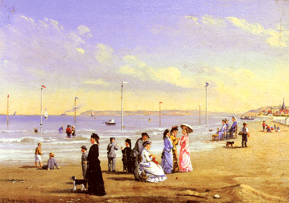At The Seaside | Conrad Wise Chapman | Oil Painting