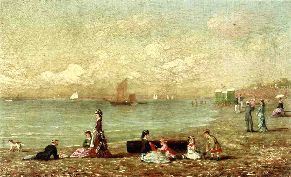 Shoreham de Brighton  1879 | Conrad Wise Chapman | Oil Painting