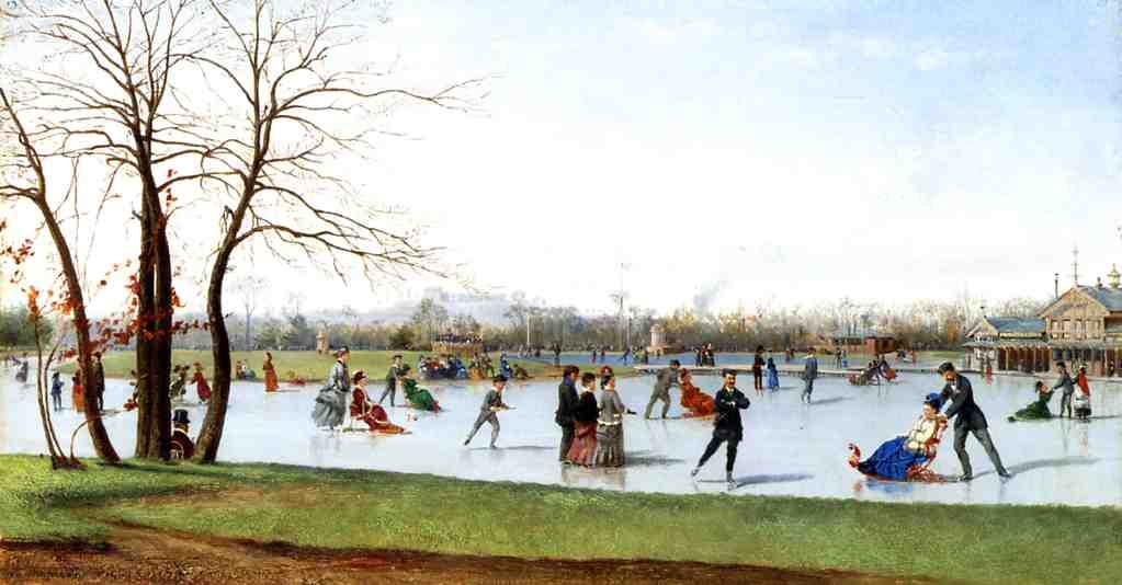 Circle of Skaters, Bois de Boulogne 1875