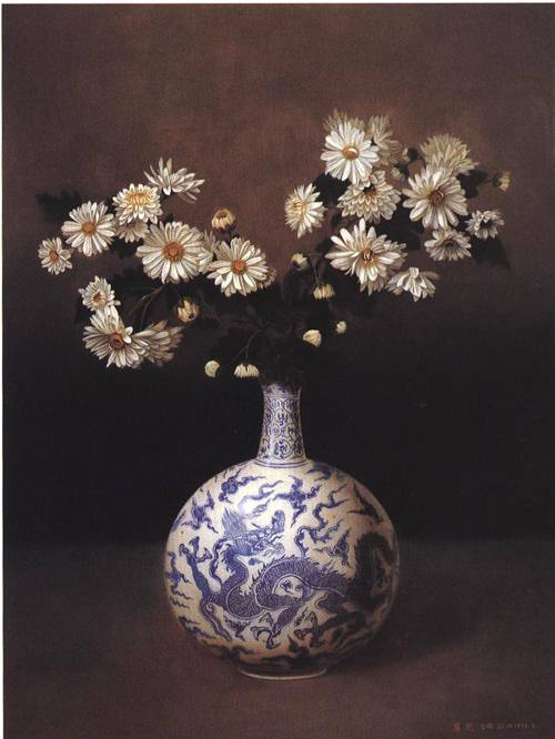 Chrysanthemum | Lin Ji | Oil Painting