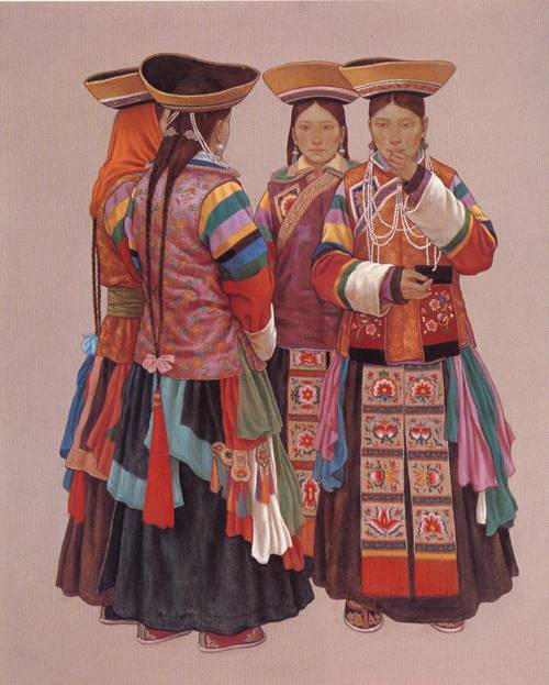 Festival | Heng Xin Xie | Oil Painting